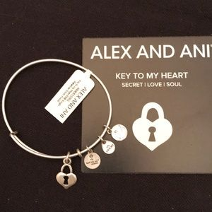 Alex and Ani Key to My Heart